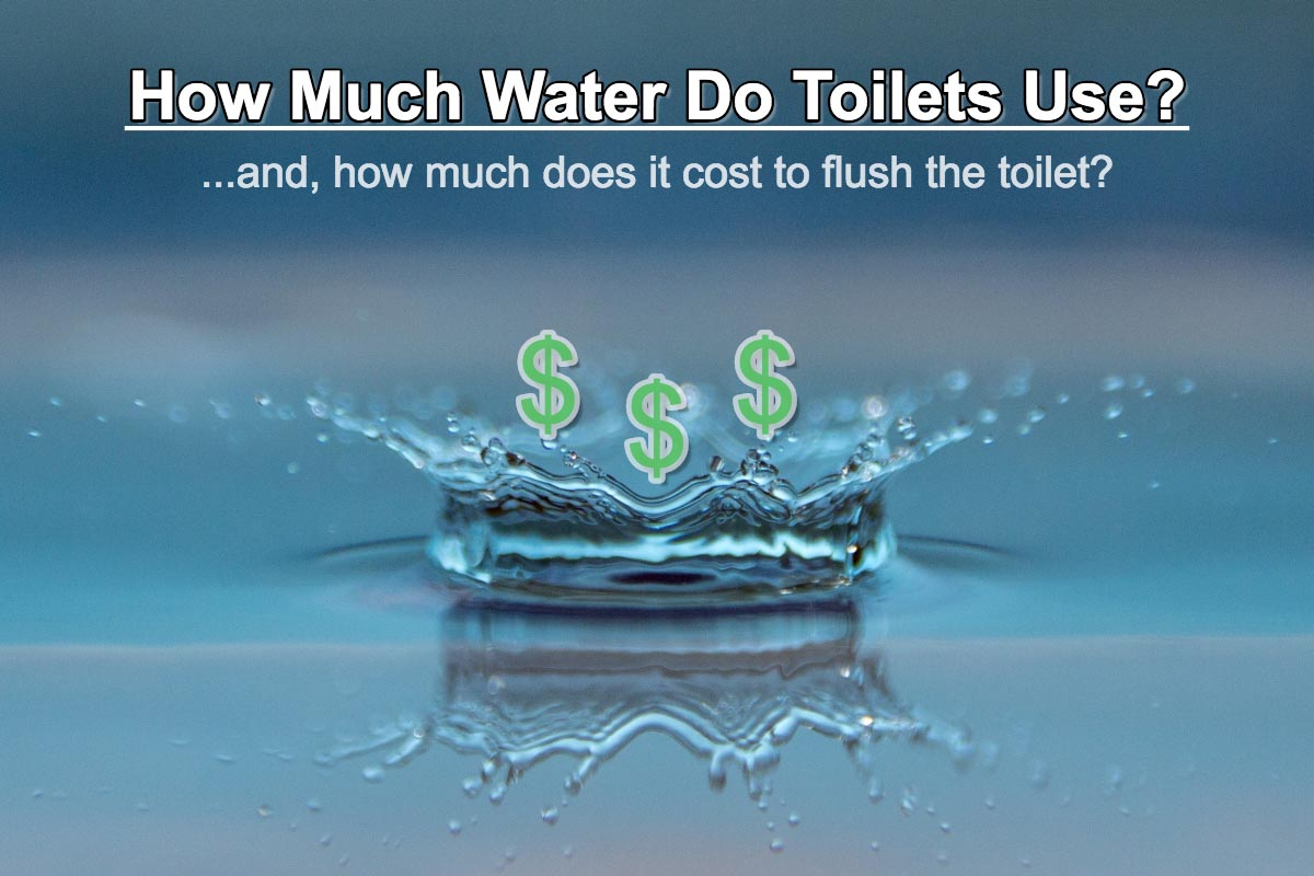 How Much Water Do Toilets Use and How Much Does It Cost to Flush the Toilet?